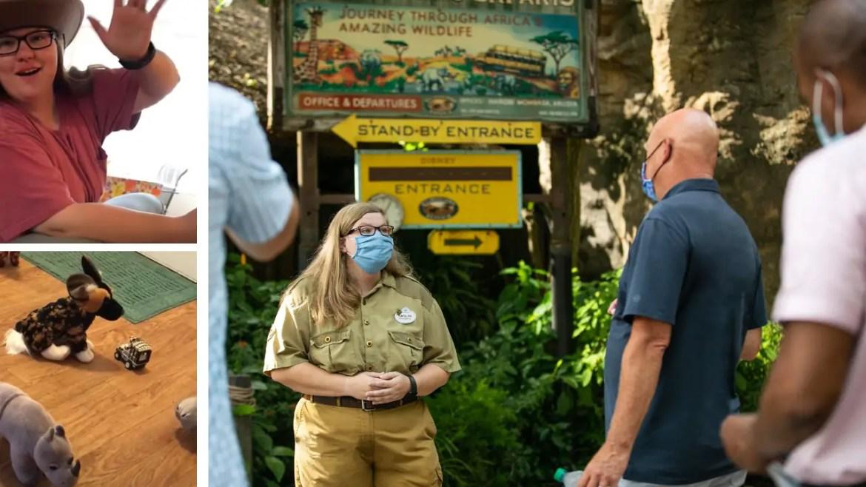 Cast Member from viral Kilimanjaro Safari video returns to work