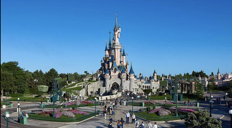 Construction Sites at Disneyland Paris Resumed Activity Earlier This Week