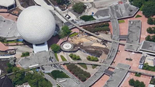 Epcot construction continues at Walt Disney World