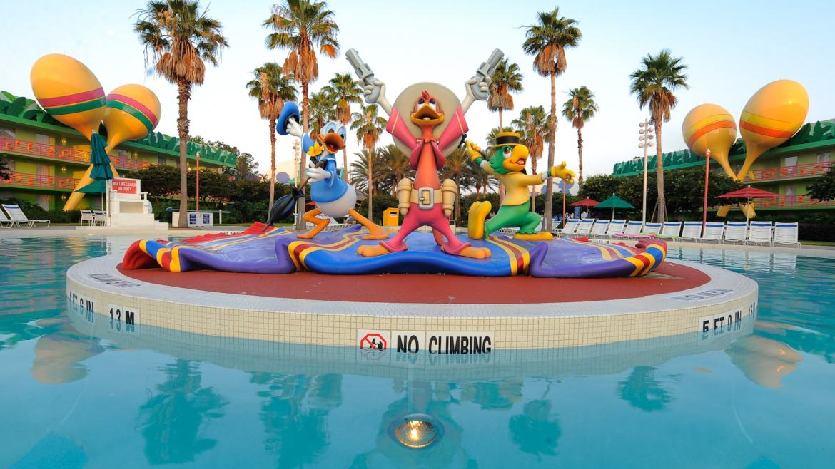Disney World Resort Pools now opening at 9:00 AM