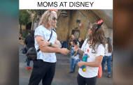 Video: Moms at Disney featuring Dude Dad