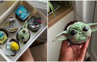 These force stopping Baby Yoda cupcakes are the best snacks ever!