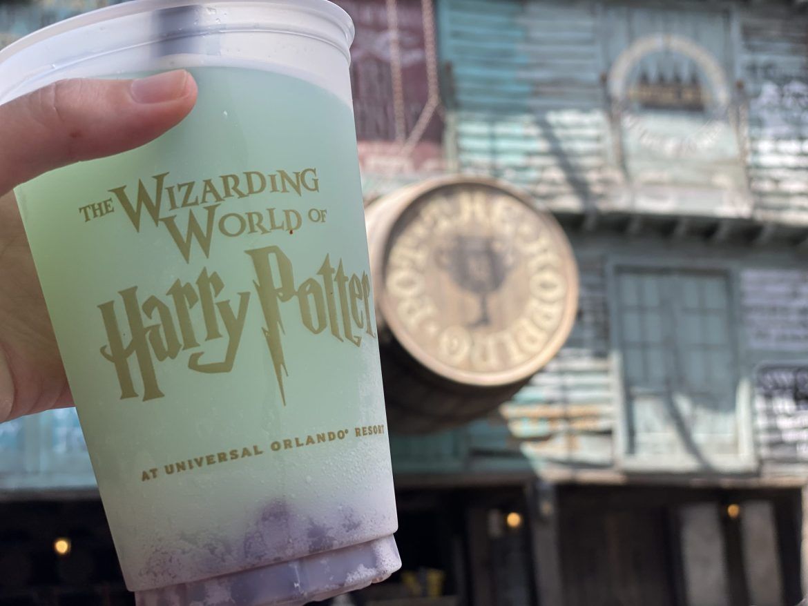 The Wizarding World of Harry Potter's Fishy Green Ale is Magically Refreshing