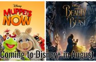 Everything Coming to Disney+ This August!