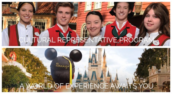 Disney World Cultural Representative Program