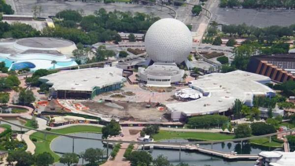 Epcot construction continues at Walt Disney World Epcot