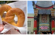 Cream Cheese Pretzels are Back at Hollywood Studios