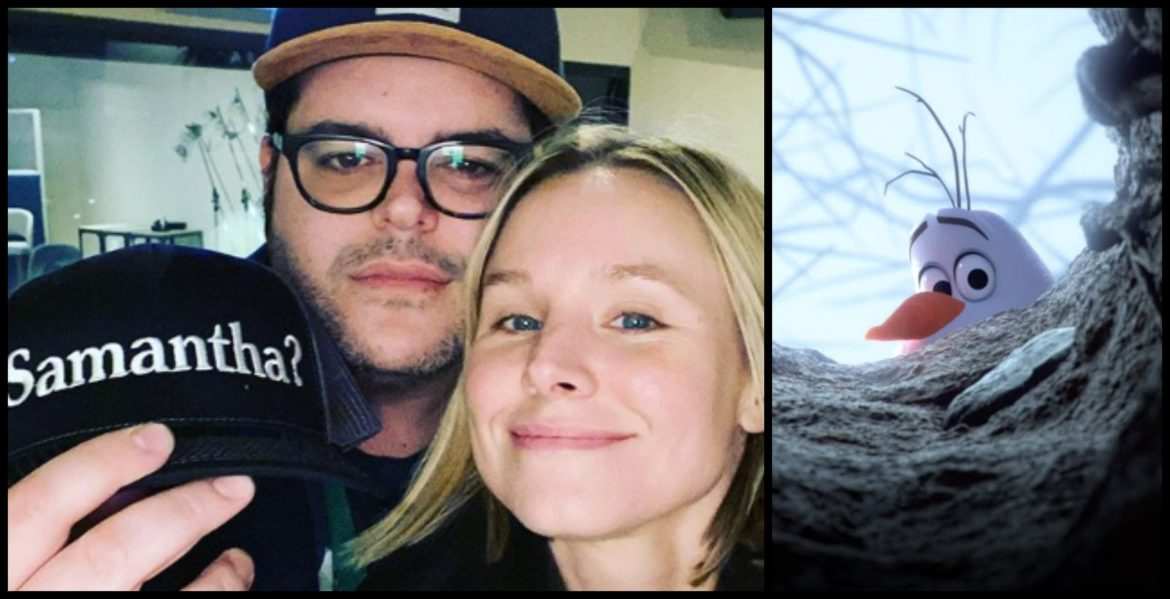 "Josh Gad and Kristen Bell Create ""Samantha?"" Hats to Raise Money for Charity"