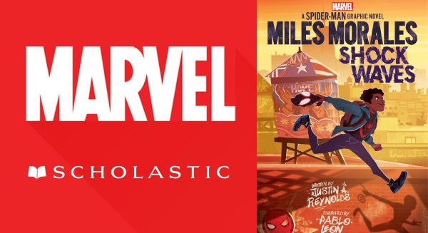 Marvel and Scholastic Assemble to Create New and Original Graphic Novels For Young Readers 1
