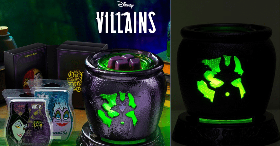 Wickedly Delightful Disney Villains Scentsy Collection Coming This Fall