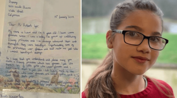 Inspired Schoolgirl Asks for Disney Princesses with Glasses Disney princesses