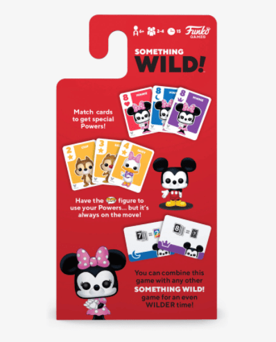 New Funko Disney Card Games Get Bring The Fun With Something Wild! 3