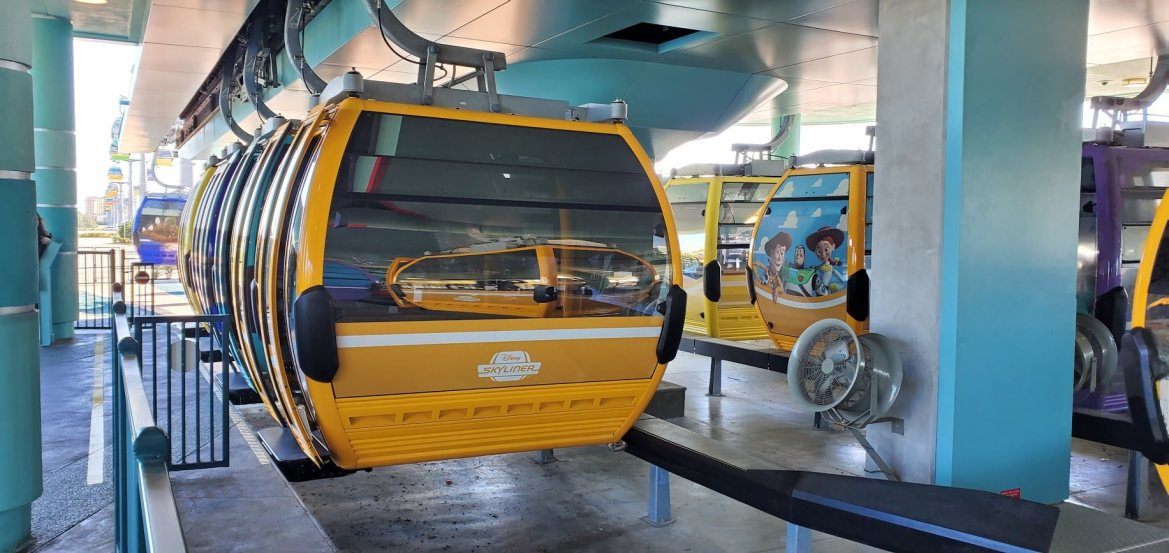 Disney Skyliner Reopening with Enhanced Safety Precautions
