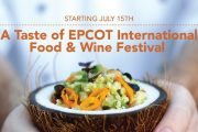 2020 Epcot International Food and Wine Festival Sneak Peek