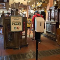 Social Distancing Measures In Place On Pirates Of The Caribbean
