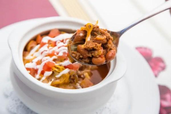walt disney chili