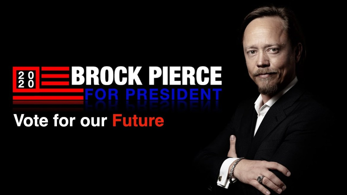 'The Mighty Ducks' Star, Brock Pierce, Launches 2020 Presidential Campaign