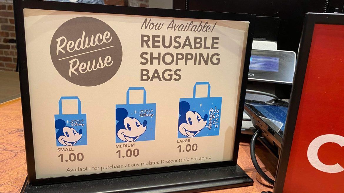 Disney Reduces Price on All Reusable Bags at Disney Springs