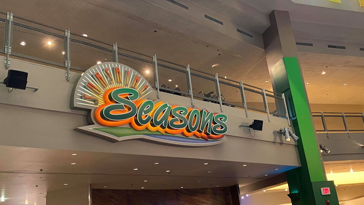Sunshine Seasons in Epcot Offering a very Limited Menu
