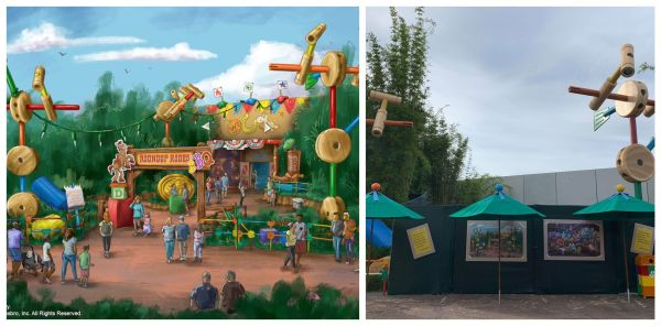 Roundup Rodeo BBQ Construction Continues at Hollywood Studios 1