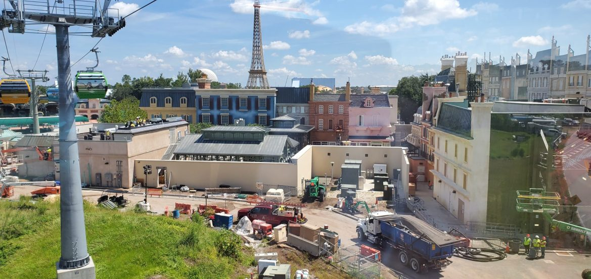Remy's Ratatouille Adventure Construction Update