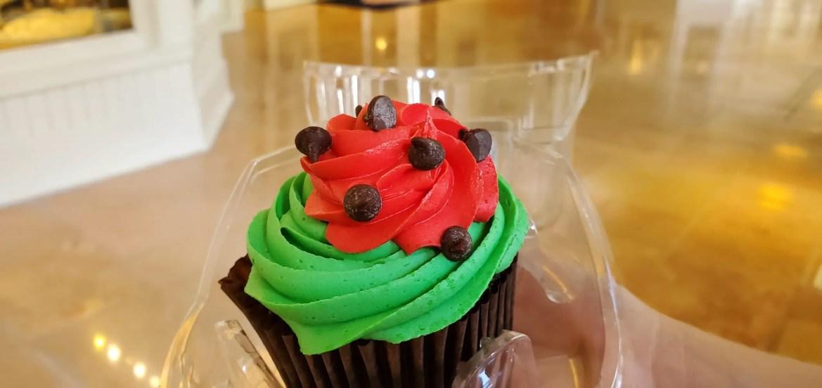 New Watermelon Cupcake at Disney's Beach Club Resort