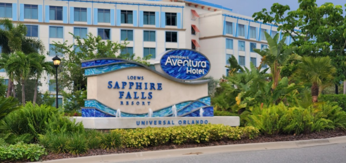 Universal's Sapphire Falls, Universal's Aventura Hotel to Temporarily Close This Month