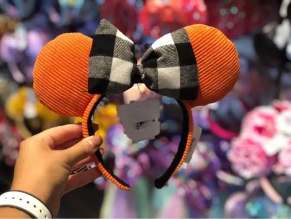 New Saffron and Rustic Autumn Minnie Ears Have Fallen Into Walt Disney World 1