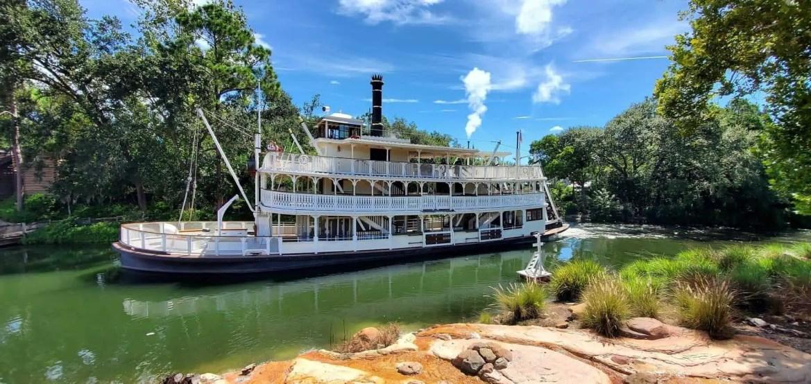 Magic Kingdom's Liberty Square Riverboat to Undergo Refurbishment