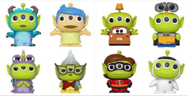 More of Pixar's Alien Remix Funko Pops on the way! 3