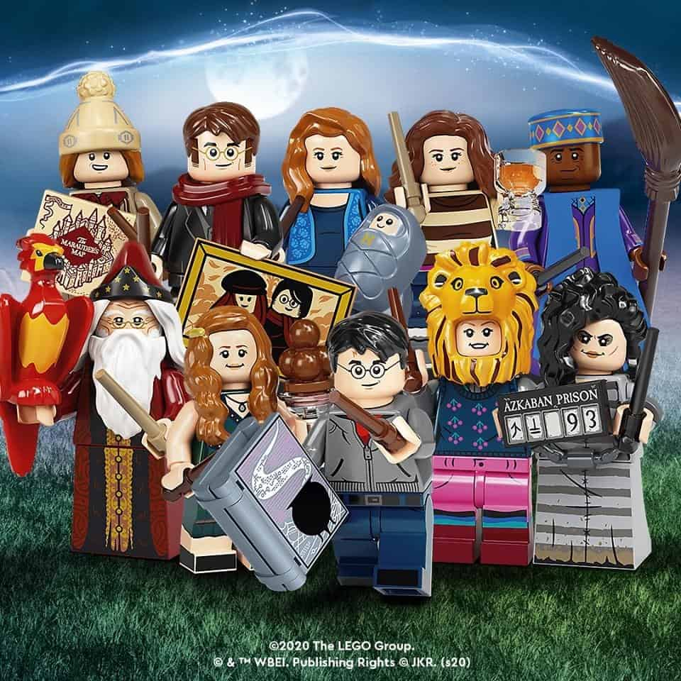 New LEGO Harry Potter Minifigures are here!