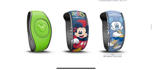 Free and Premium Magic Bands now available on the Disney World Website 12