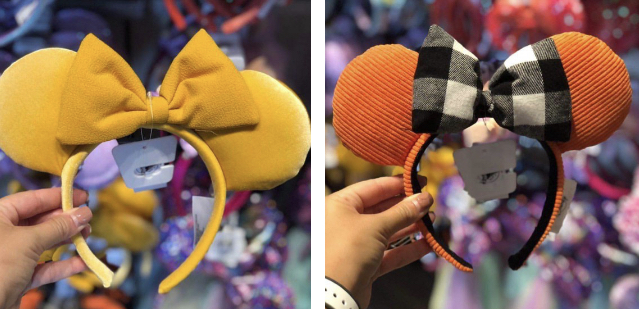 New Saffron and Rustic Autumn Minnie Ears Have Fallen Into Walt Disney World