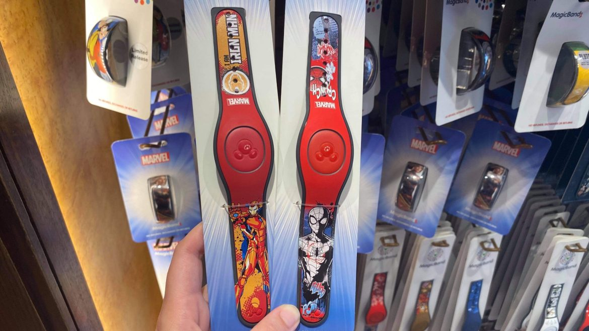 New Marvel Magic Bands Blast Their Way into Disney World