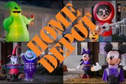 Home Depot is Featuring a New Line of Disney Inflatables Just in Time for Halloween