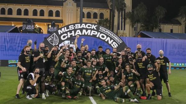 "Disney celebrates ""MLS is Back"" Tournament Final 2"