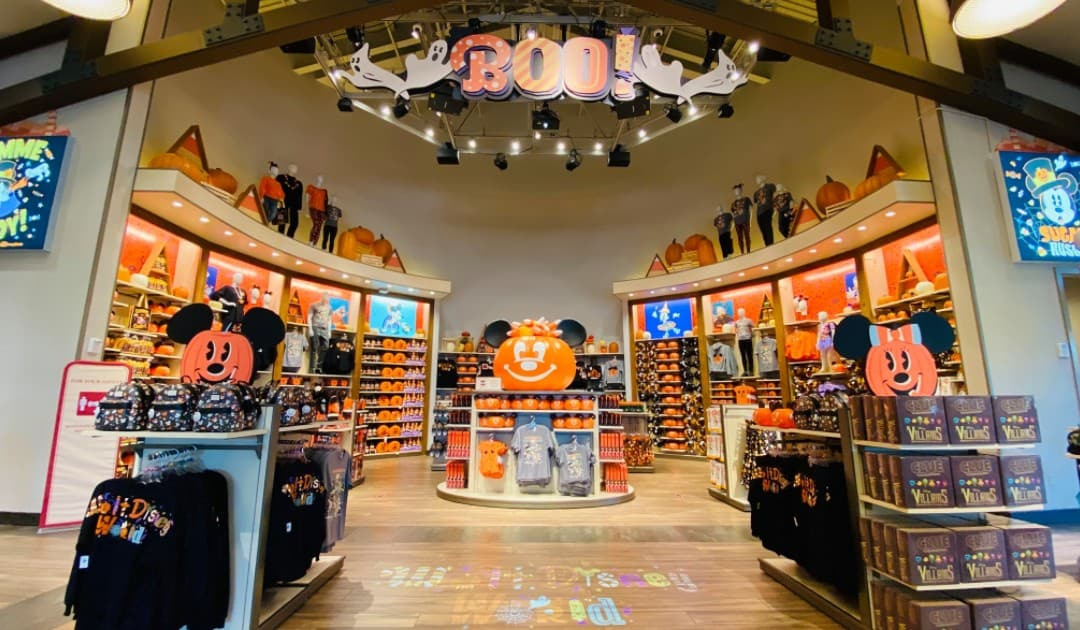 Halloween merchandise has materialized at World of Disney!