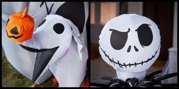Home Depot Released a Jack Skellington and Zero Inflatable Just in Time for Halloween 2