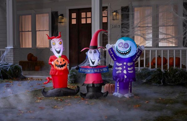 Home Depot is Featuring a New Line of Disney Inflatables Just in Time for Halloween 8