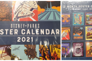 Dazzling New Disney Parks Poster Calendar For 2021