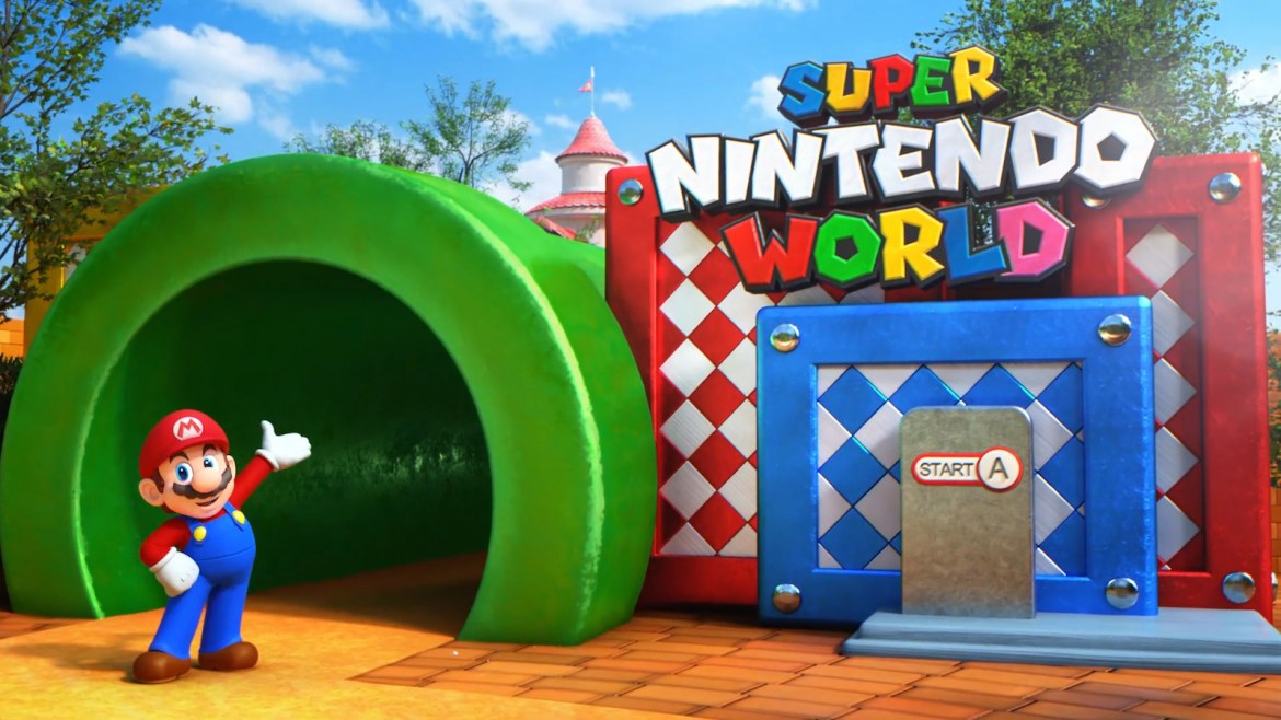 Construction has begun on Super Nintendo World at Universal Studios Hollywood