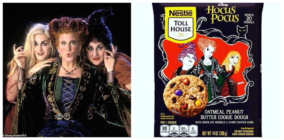 Hocus Pocus Nestle Toll house Cookies are coming to a store near you