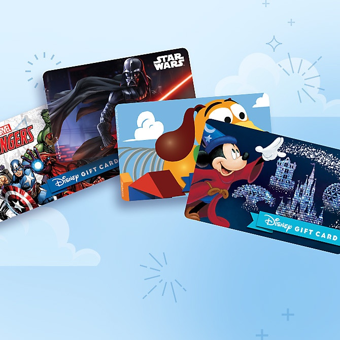 New Designs For ShopDisney Gift Cards!