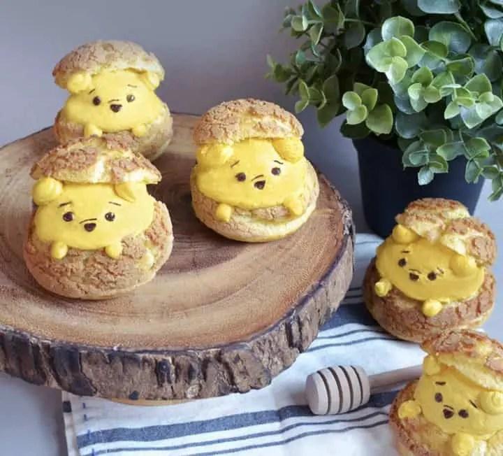 Winnie The Pooh Cream Puffs Are Unbearably Cute!