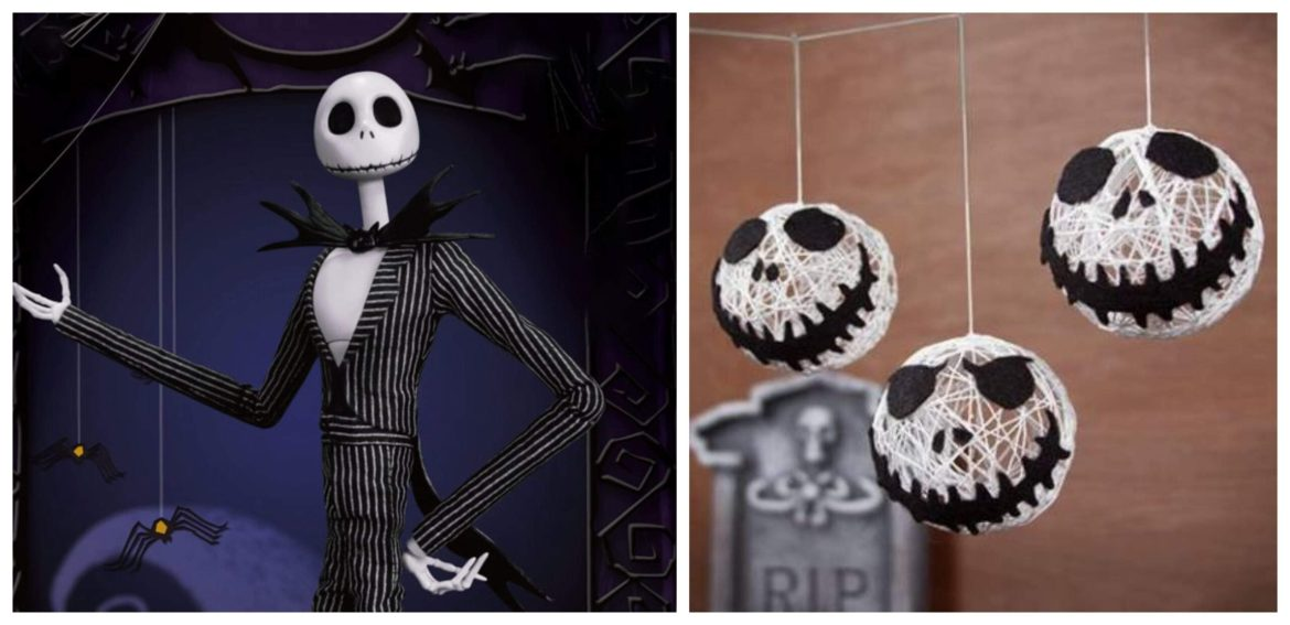 Try This At Home – Jack Skellington Halloween String Garland