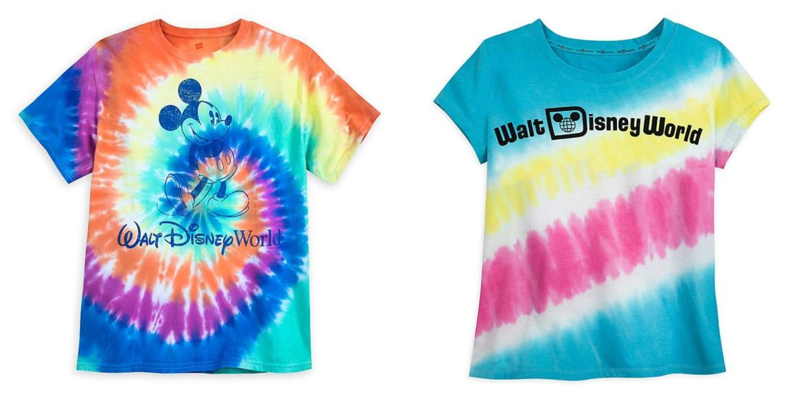 How To Make Your Own Disney Tie Dye Shirts At Home!