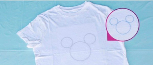 How To Make Your Own Disney Tie Dye Shirts At Home! 3