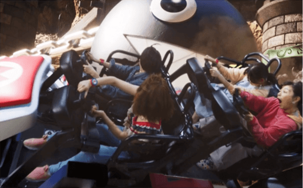 Accidental Preview of Mario Kart Attraction at Universal Japan