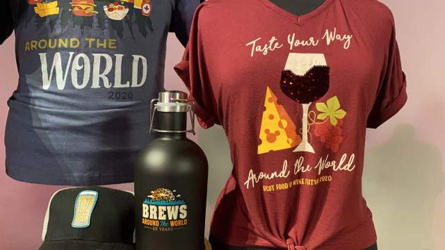 First Look At Epcot Food And Wine 2020 Merchandise 2