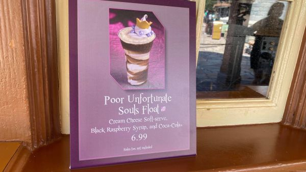 Poor Unfortunate Souls Float is our new favorite treat